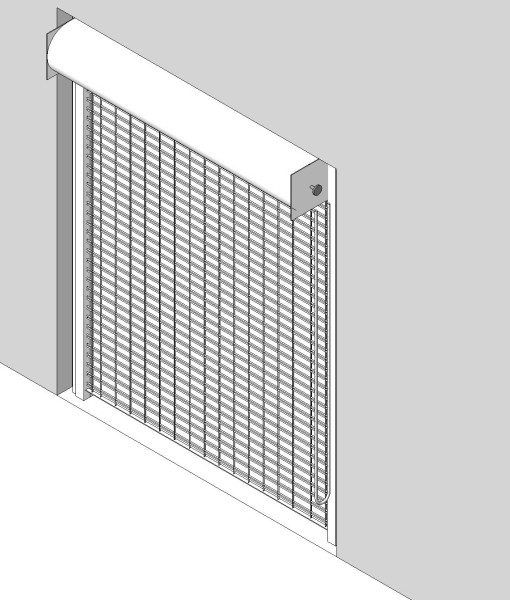 670_Grille_Btw_Jambs_Mtd_Overhead_Door