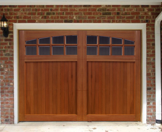Traditional wood collection garage doors overhead door for Traditional garage