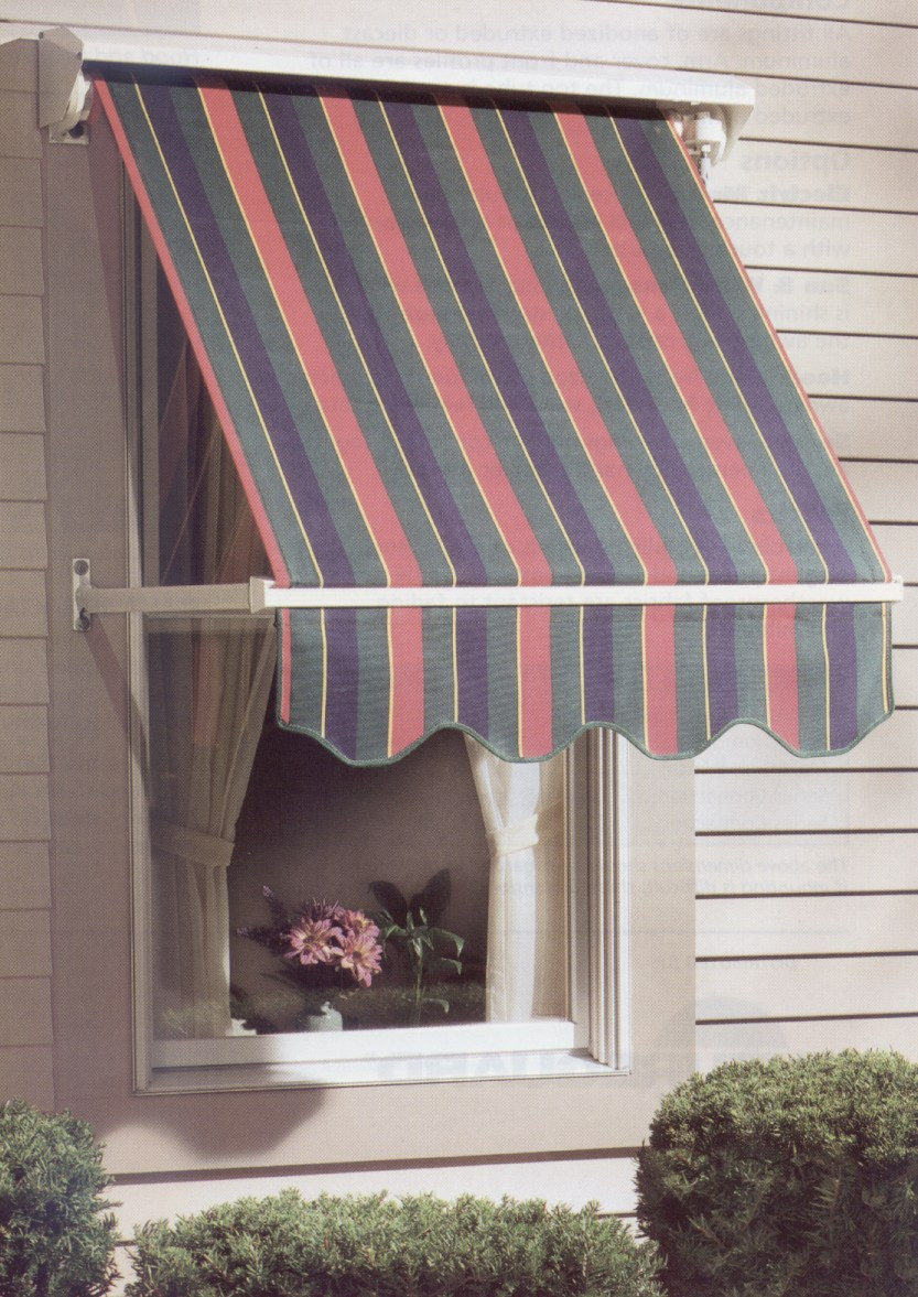4300 Fabric Window Awnings Overhead Door