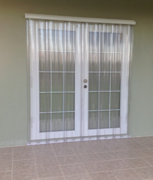 Clear Guard Hurricane Panels Overhead Door