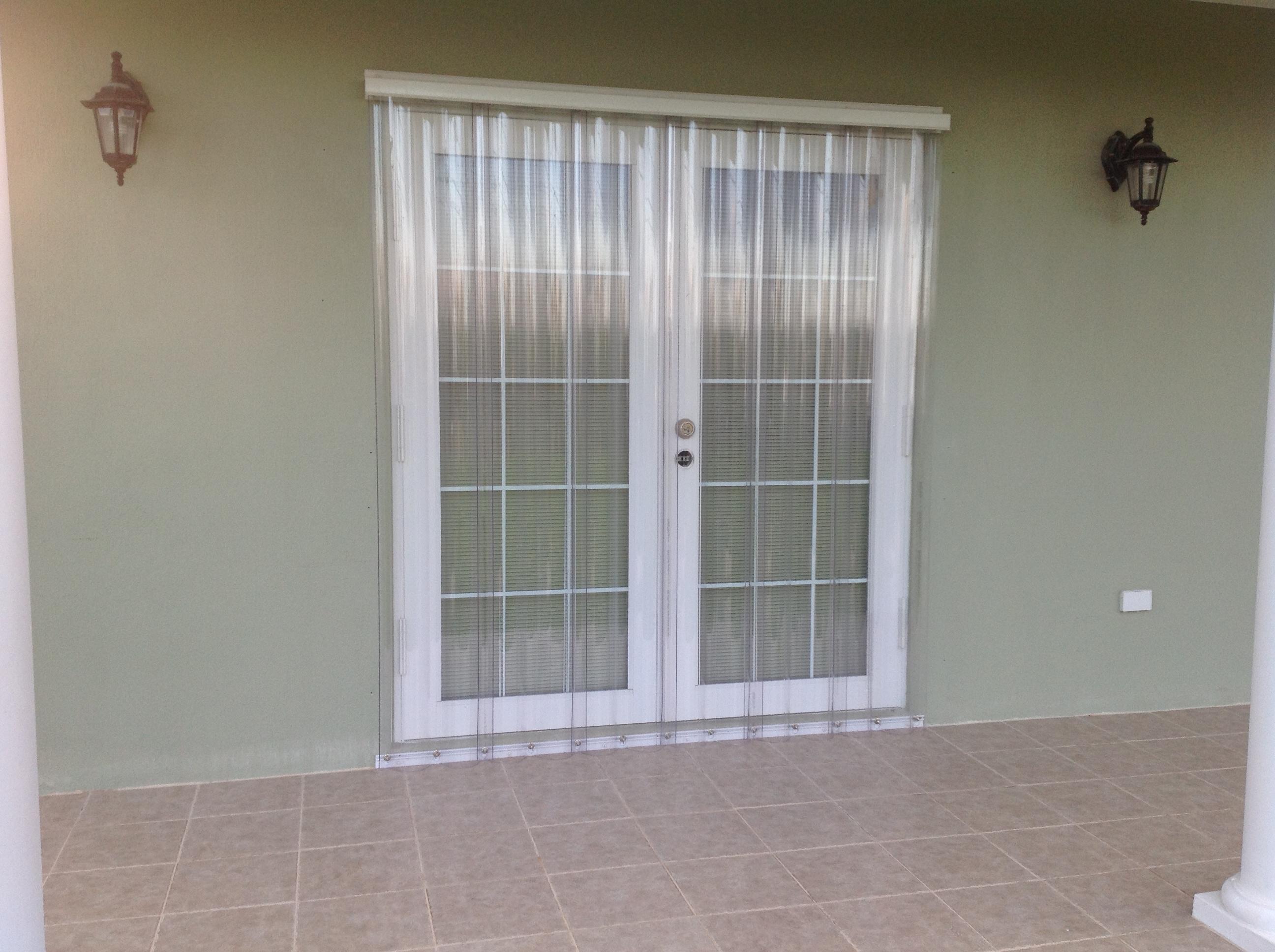 Clear Guard Hurricane Panels Overhead Door