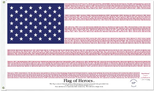 Flag Of Heroes Amp Honor 9 11 3 X 5 Nyl Go Overhead Door