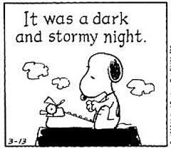 stormy night peanurs